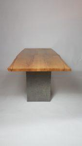 Esstisch mit Betonoptik Abbildung 2