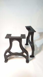 Tischgestell Eisenguss Industrie Design Abbildung 1
